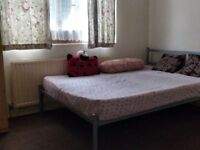 Double bed room available for rent in Wembley, Suitable for Vegetarian couple.