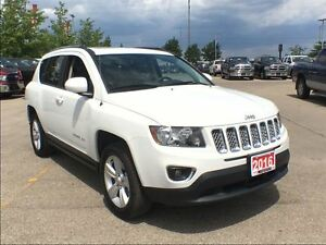 2016 Jeep Compass HIGH ALTITUDE**LEATHER HEATED SEATS**BLUETOOTH