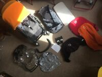 Bugaboo cameleon travel system lots f extras