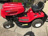 Lawn King RC 125 Ride on Mower / Tractor with Collector and Tipping Trailer