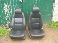 SAAB 9-3 CONVERTIBLE 2002 REG FRONT LEATHER SEAT TUBRO