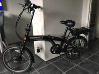 Connect eco-power assisted electric folding bike