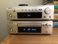 Denon Amp / Tuner and CD Player
