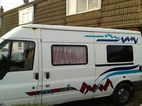 Transit campervan for sale