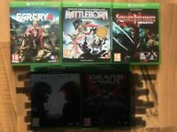 xbox one games £10 each , OR 3 FOR £25 , all as new condition ! price stands , no offers !