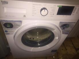 Beko washing machine 8kg