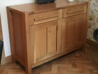 Marks & Spencer (Cost New £950) Sideboard and Side Table
