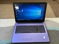 HP Purple laptop Windows 10   Webcam   Wireless