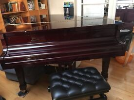 Bechendorfer baby grand piano for sale.