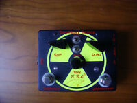 Homebrew Electronics Doomsday Device, overdrive distortion fuzz guitar pedal, condition excellent