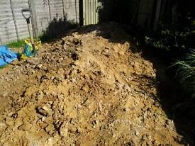 Free clay sandy soil approx 2 -3 tonnes