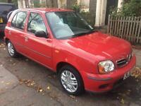 NISAN MICRA 998cc 2002 5 DOOR LOW MILAGE