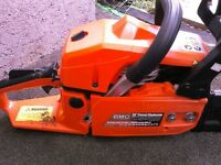 "BMC 55cc 20"" chainsaw"