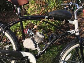 Motorised beach cruiser bike custom parts