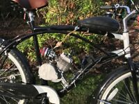 Motorised beach cruiser bike custom parts