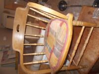 Captains Chair with Cloth Seat