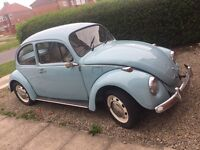 Fully Restored Low-Mileage Beetle