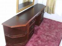Large Dressing Table with Drawers & Shelves