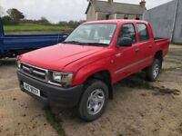 1999 Toyota Hilux crewcab 2.5 TD diesel excellent condition 🔹 4x4 🔹 ideal for export 🔹