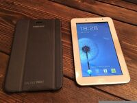 Samsung Galaxy Tab 2 7inch Tablet - White (8GB, WiFi, Android 4.0) + Samsung Cover + 15 GB SC Card