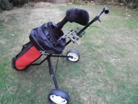 Juniors GOLF (Starter Set ) including Bag and Trolly