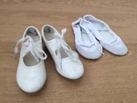 Ballet tap shoes size 9