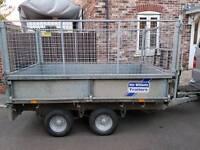 Ifor Williams LT85g flatbed trailer
