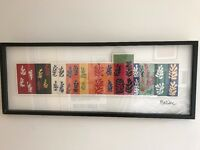 Large framed matisse print