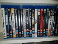 Various Blu Ray discs for sale