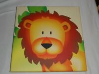 CANVAS PICTURES OF SAFARI ANIMAL LION