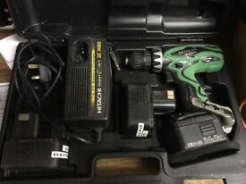 14.4v Hitachi Cordless Drill