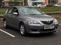2005 MAZDA 3 1.6 DIESEL * 5 DR * LADY OWNER * SERVICE HISTORY * LOW MILES * PART EX * DELIVERY *