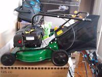 petrol push lawnmower briggs & stratton engine new