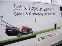 Petrol Lawnmower service & repairs. sales.