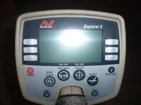 Minelab Explorer II Metal Detector