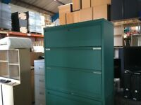 Triumph 3 drawer side filer in green