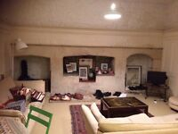 Basement Flat, central Bath, 1 double bedroom.