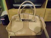 Gorgeous River island beige bag medium size