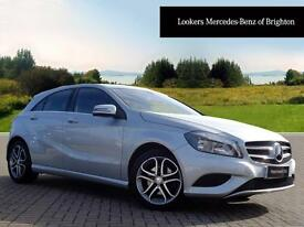 Mercedes-Benz A Class A180 BLUEEFFICIENCY SPORT (silver) 2014-03-01