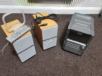 Panasonic 5 cd stereo system. Taoe recorder and radio. Excellent conditon
