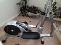 Marcy cross trainer in very good condition with heart rate monitor very strong and sturdy