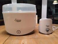 Tommy Tippee steam steriliser + bottle heater