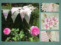 Wedding / event / fete/ garden party / marquee decoration Bunting