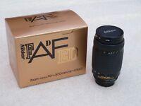 Nikon 70-300mm F4.5-5.6 AF ED Lens Excellent Condition with Nikon HB15 Lens Hood
