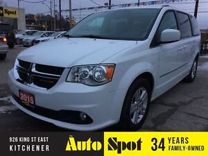2015 Dodge Grand Caravan Crew Plus/LEATHER/LOADED/LOW,LOWKMS!