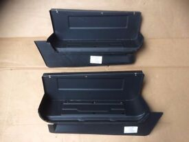 mk3/4/5 ford transit front door steps with inner sills 86-2000