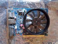 FULLY WORKING GAMING GRAPHICS CARD NVIDIA GTX 645 PCI-E 2GB VRAM, PCI EXPRESS, HDMI, DVI, DP PORT