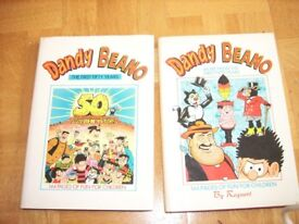 Dandy & Beano: The First 50 Years (includes original poster) and More From The First 50 Years
