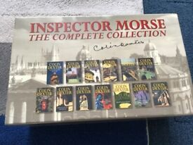 Inspector Morse by Colin Dexter the complete book collection 13 books
