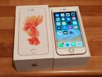 Iphone 6s unlocked 64GB boxed like new Rose gold